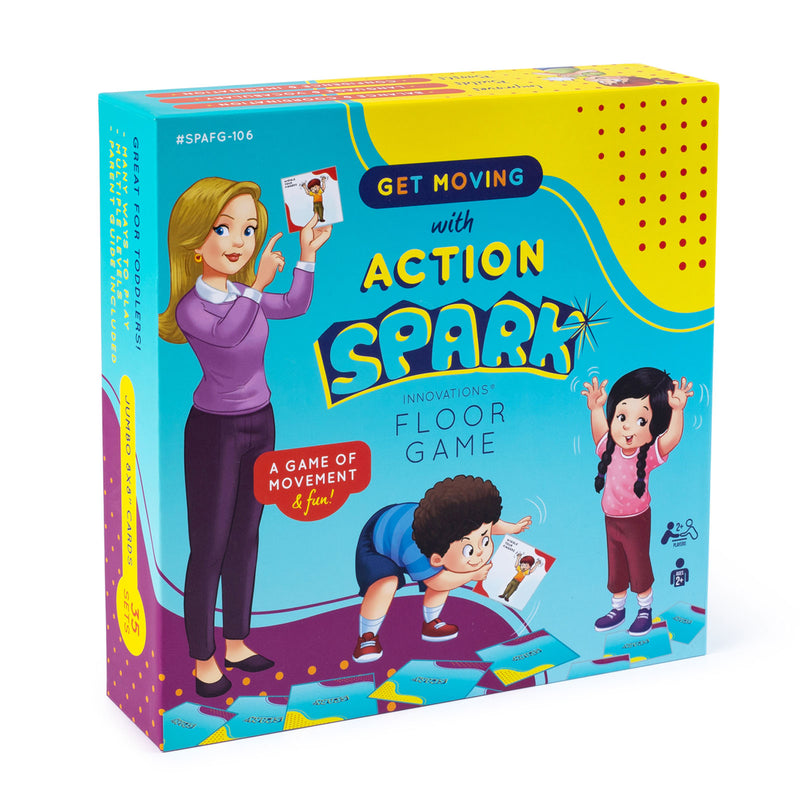 Action Cards Spark Floor Game