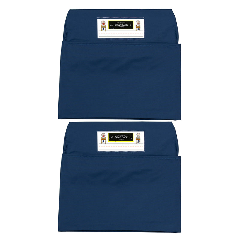 (2 Ea) Seat Sack Small Blue