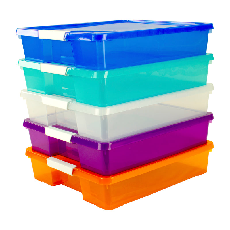 Classroom Project Box Set Of 5 Assorted Colors