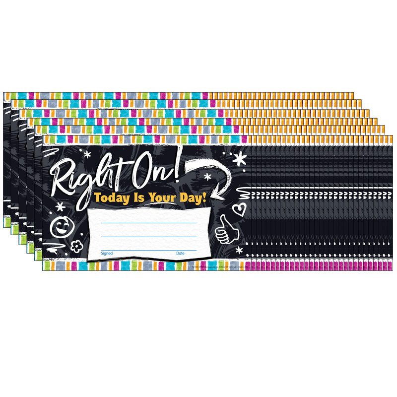 (6 Pk) Right On Recognition Awards Color Harmony
