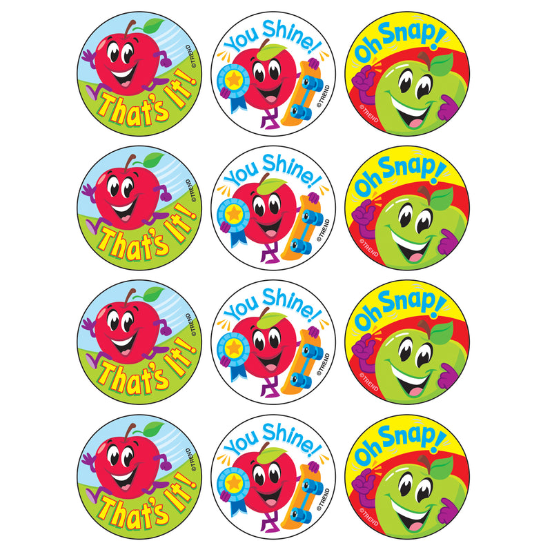 Snappy Apples-apple Stinky Stickers