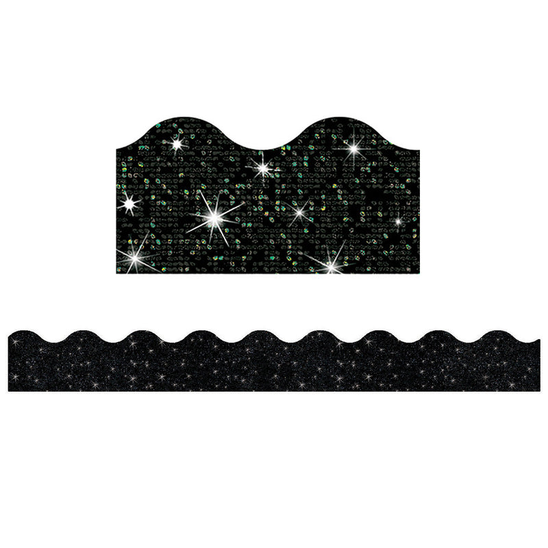 (6 Pk) Black Sparkle Trimmer