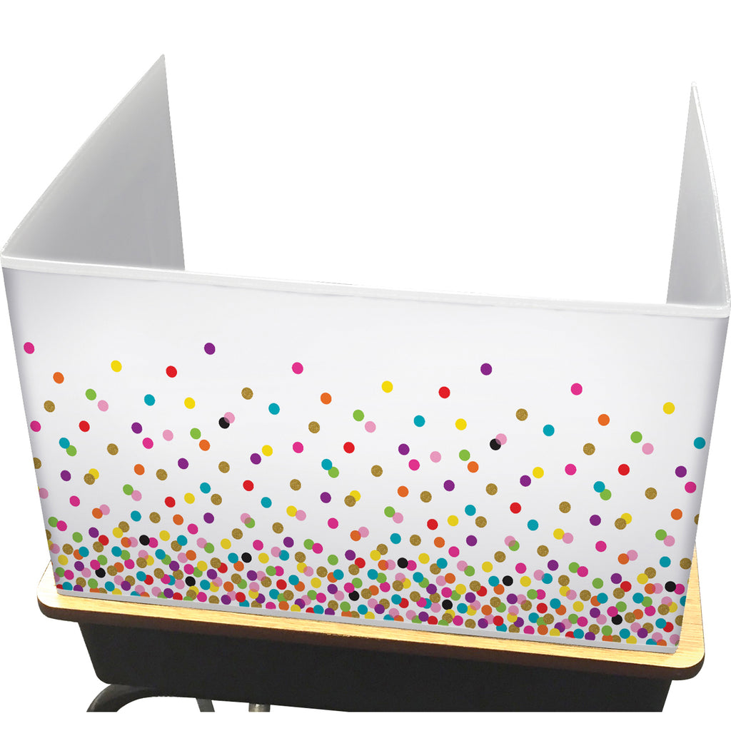 (2 Ea) Confetti Classroom Privacy Screen