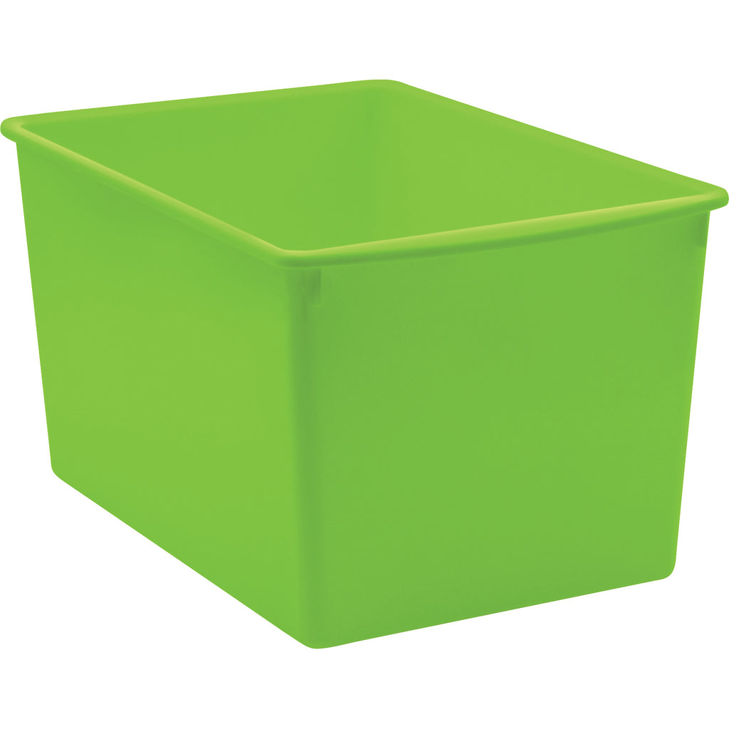 Lime Plastic Multi-purpose Bin