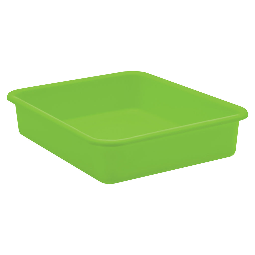 Lime Large Plastic Letter Tray