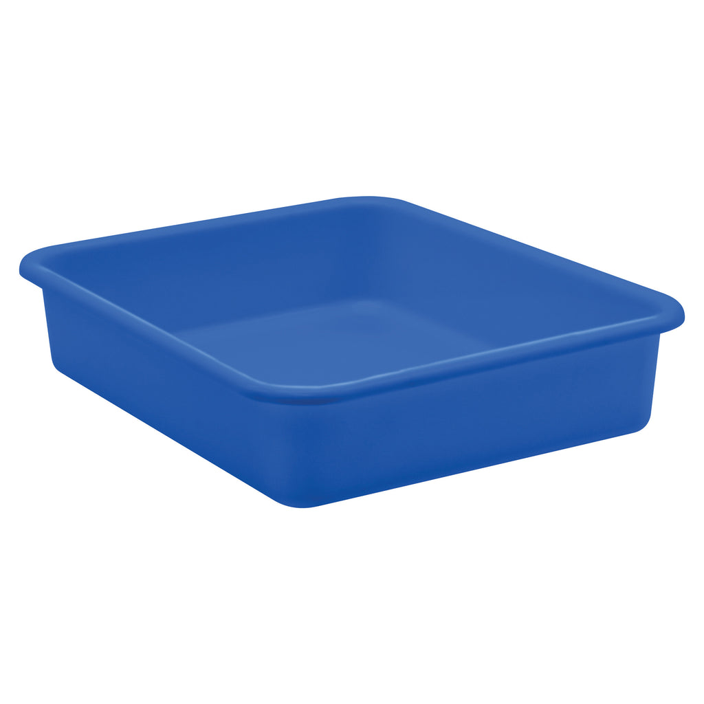 Blue Large Plastic Letter Tray