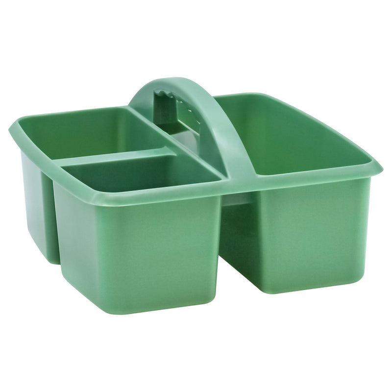 Eucalyptus Green Storage Caddy Plastic