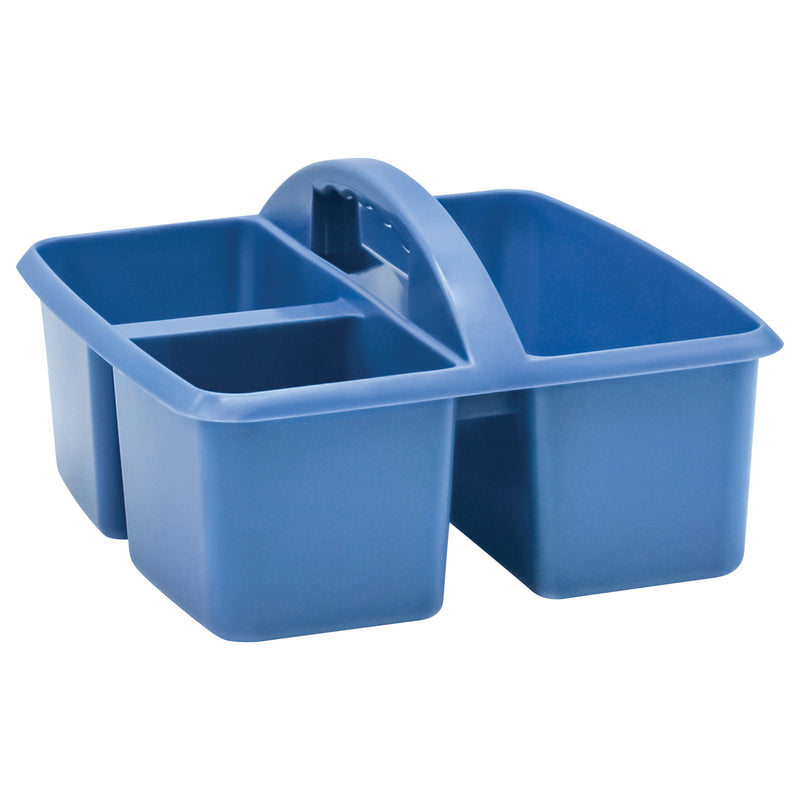 Slate Blue Plastic Storage Caddy