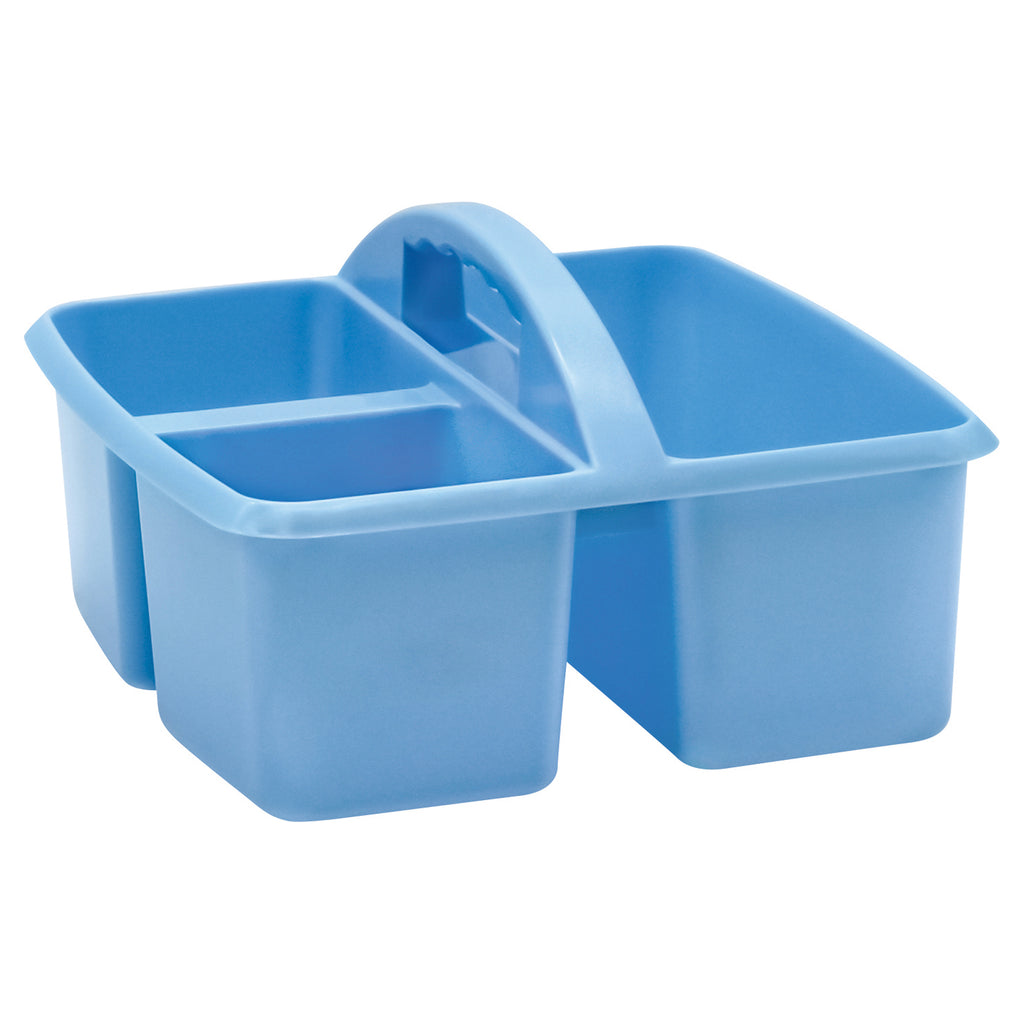 Light Blue Plastic Storage Caddy