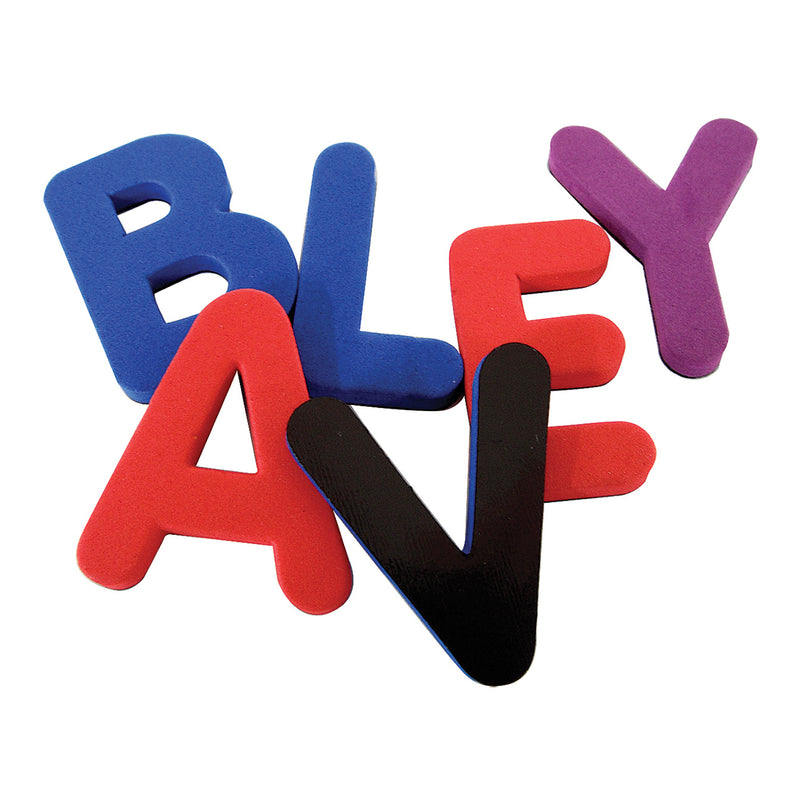 Magnetic Foam Uppercase Letters 40ct