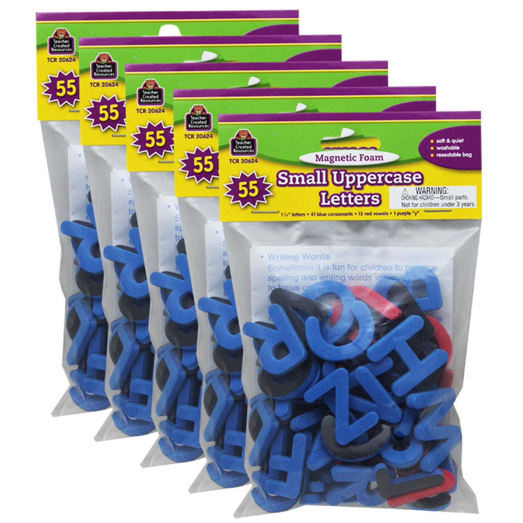 (5 Ea) Magnetic Foam Small Uppercase Letters