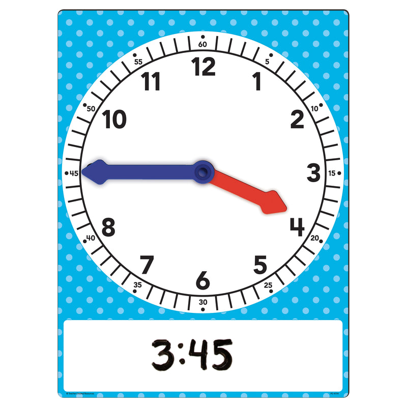 Magnetic Foam Geared Clock Large