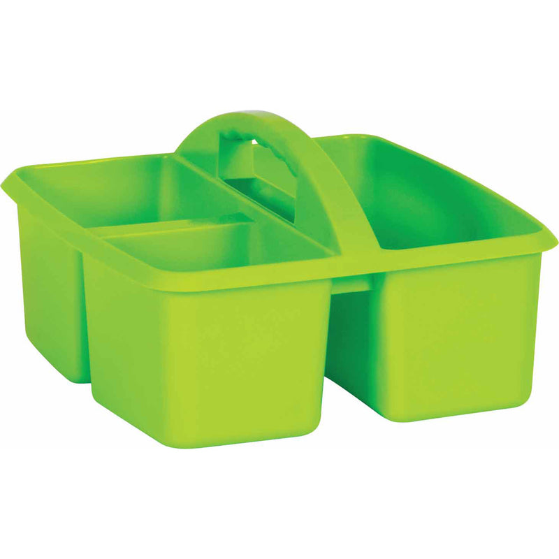 (6 Ea) Lime Plastic Storage Caddy
