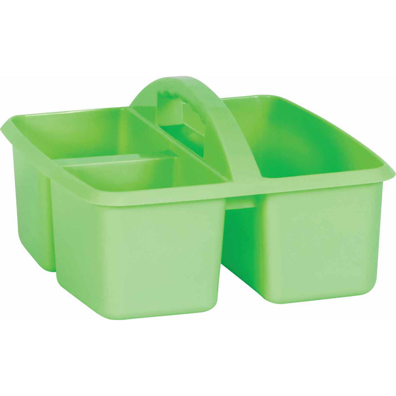 (6 Ea) Mint Plastic Storage Caddy