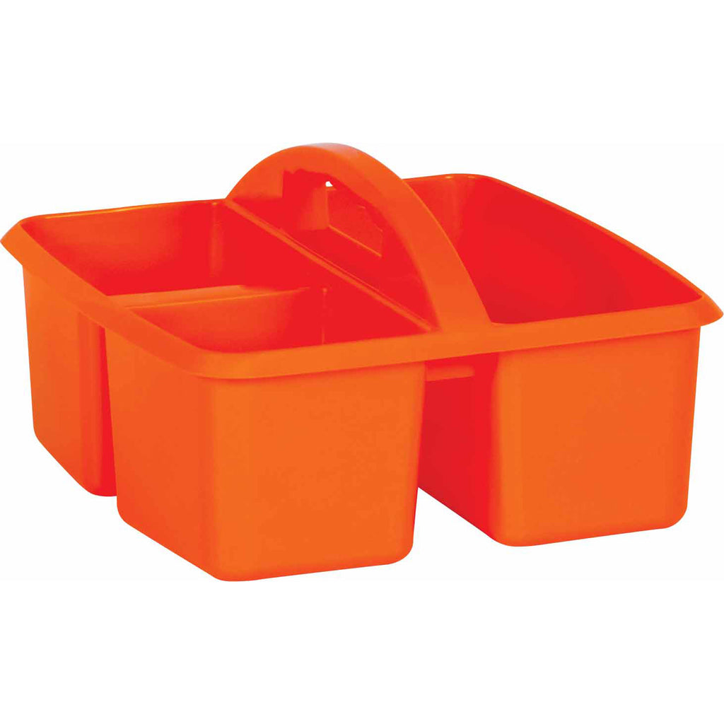 Orange Plastic Storage Caddy