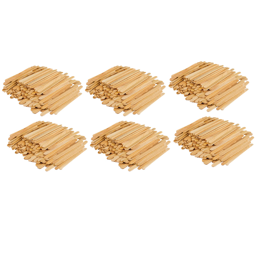 (6 Pk) Stem Basics Craft Sticks 250 Count