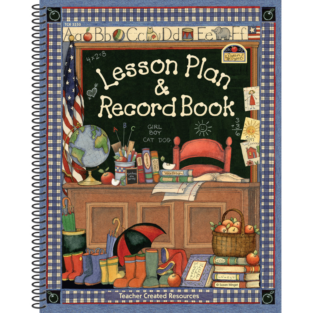(2 Ea) Sw Lesson Plan And Record Book
