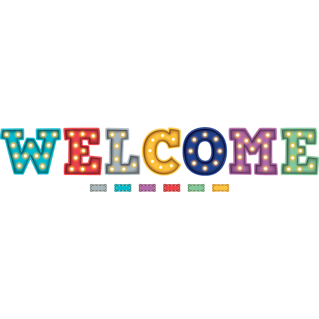 Marquee Welcome Bulletin Board