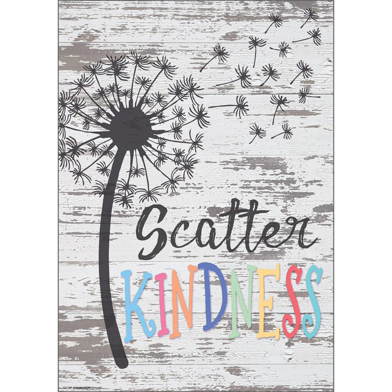 Scatter Kindness Positive Poster