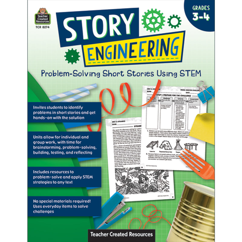 Problem Solvng Short Stories Gr 3-4 Using Stem