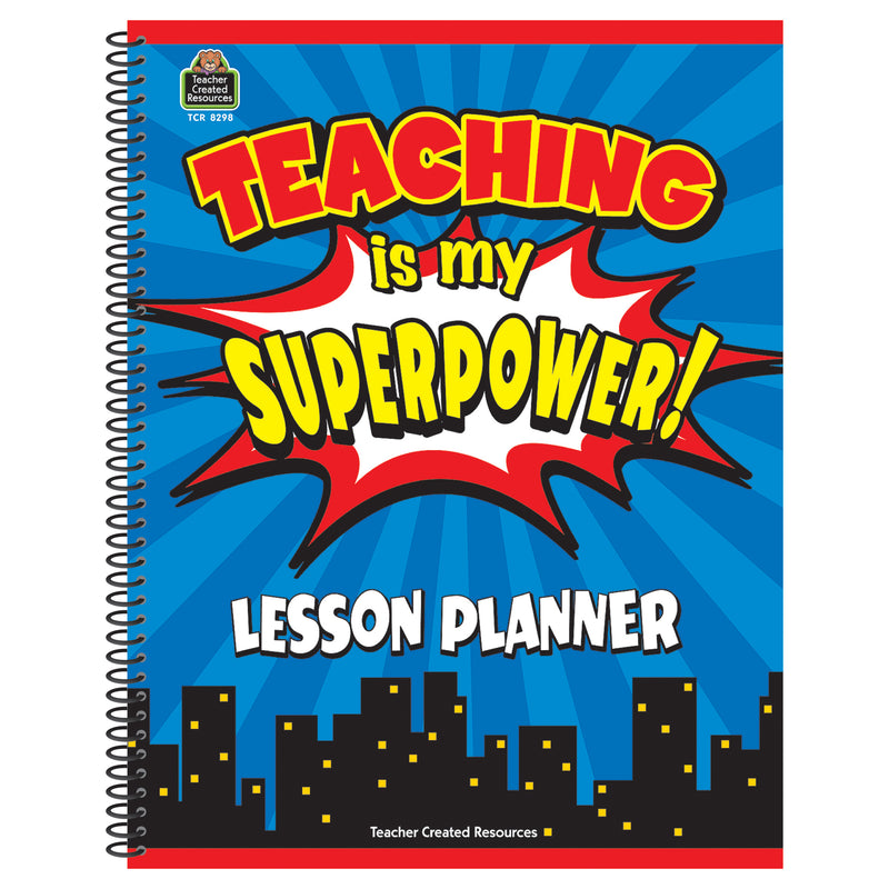 (2 Ea) Teaching Is My Superpower Lesson Planner