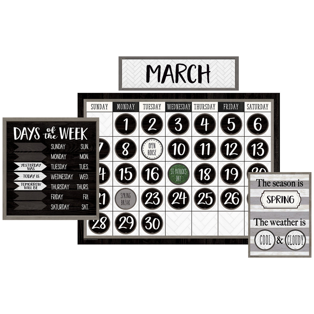 Modern Farmhouse Calendar Bb St