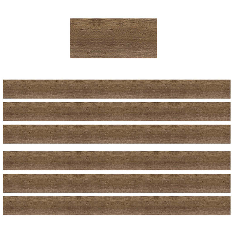 (6 Pk) Wood Straight Border Trim Home Sweet Classroom