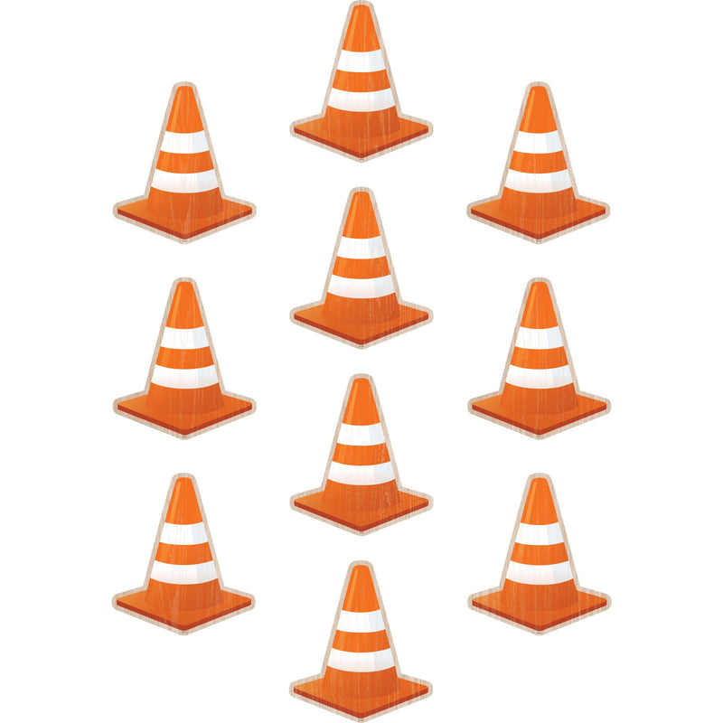 (3 Pk) Under Construction Cones Accents