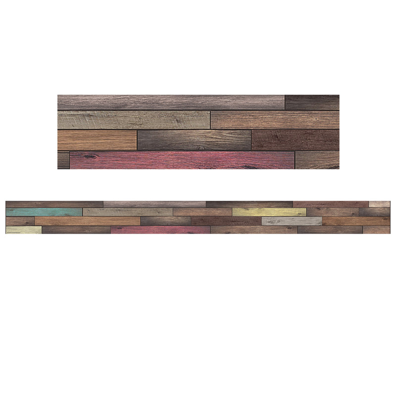 (3 Pk) Reclaimed Wood Straight Border