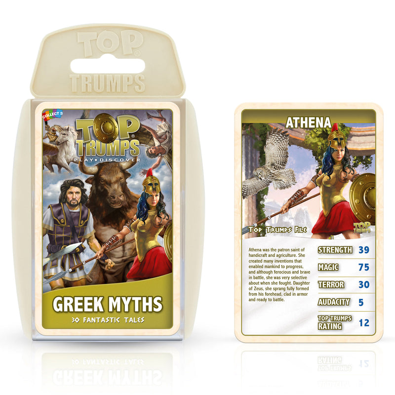Greek Mythology Card Game