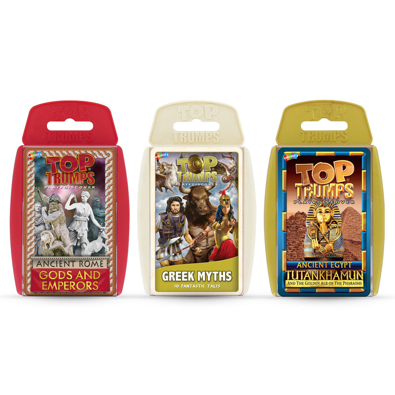 Top Trumps 3-game Bundle Ancient Civilizations
