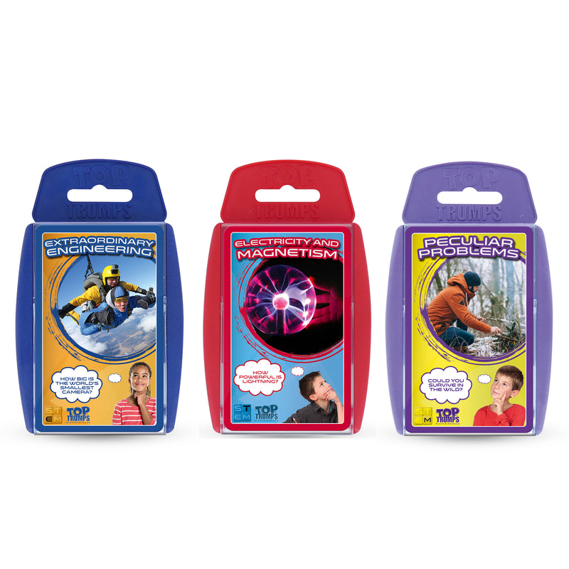 Top Trumps Stem Bundle 2