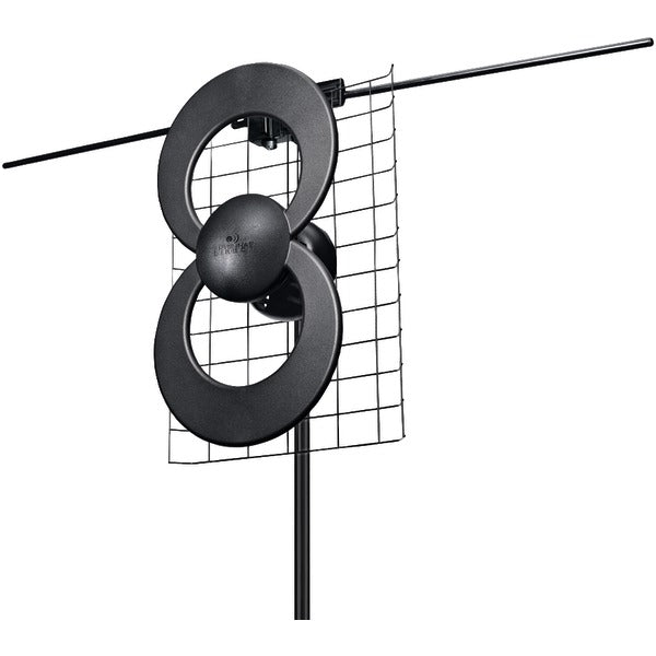 "ClearStream(TM) 2V UHF-VHF Indoor-Outdoor DTV Antenna with 20"" Mount"