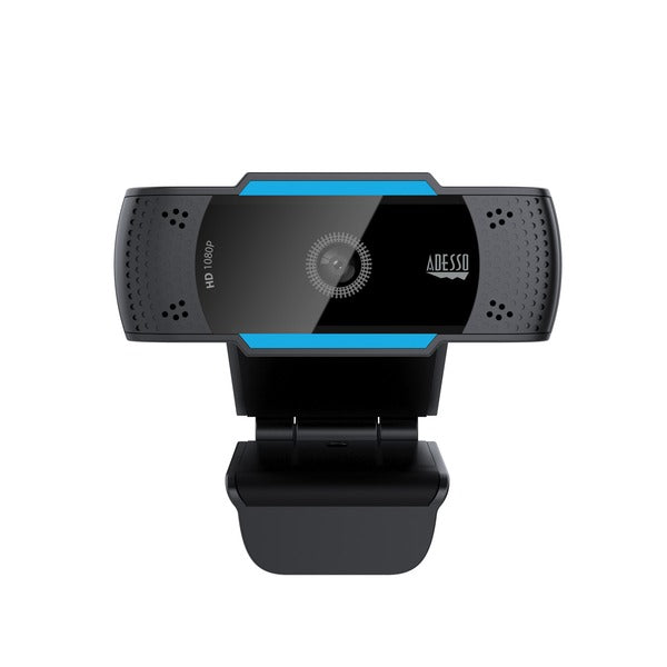 1080p HD USB Auto Focus Webcam with Built-In Dual Microphone