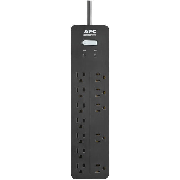 APC PH12 12-Outlet SurgeArrest Home-Office Series Surge Protector, 6ft Cord