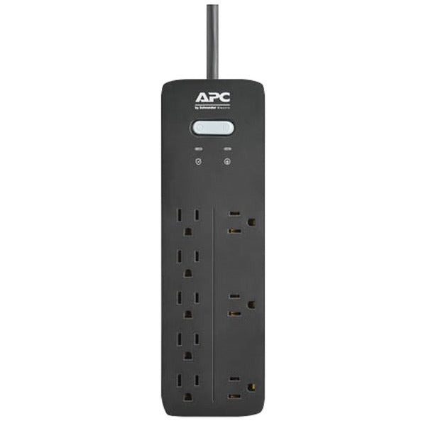 APC PH8 8-Outlet SurgeArrest Home-Office Series Surge Protector, 6ft Cord