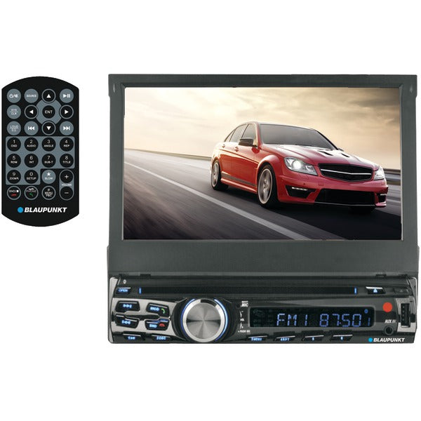 "AUSTIN 440 7"" Single-DIN In-Dash DVD Receiver with Bluetooth(R)"
