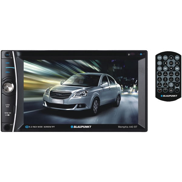 "MEMPHIS 440 BT 6.2"" Double-DIN In-Dash DVD Receiver with Bluetooth(R)"