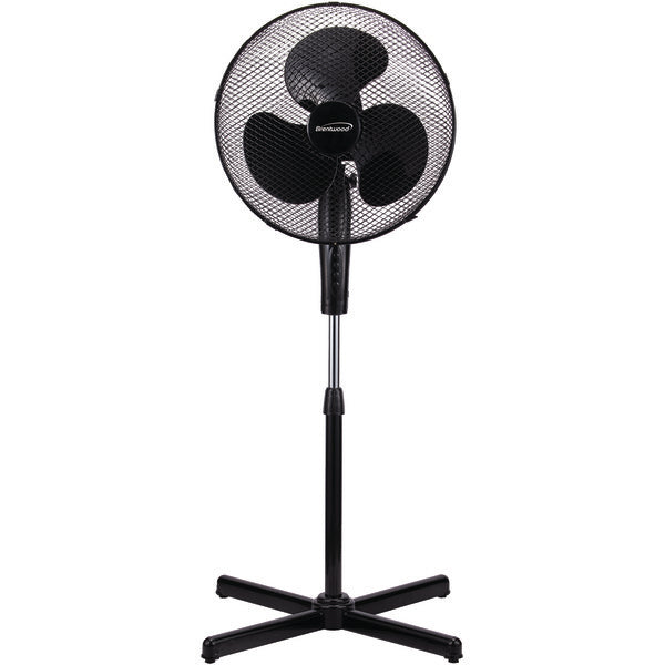 "16"" Oscillating Stand Fan (White)"