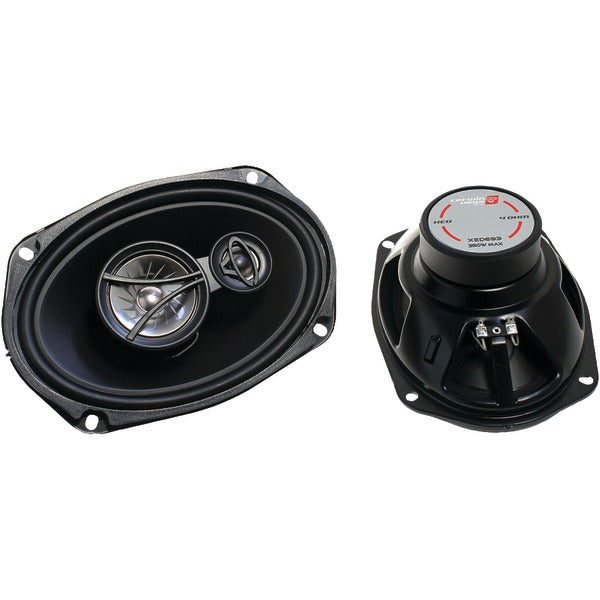 "XED Series Coaxial Speakers (3 Way, 6"" x 9"")"