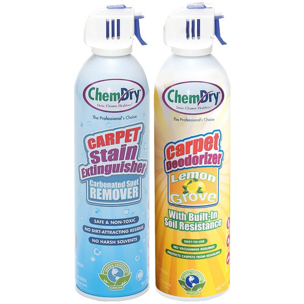 Chem-Dry(R) C198-C319 Stain Extinguisher-Carpet Deodorizer Combo Pack (Lemon Grove)