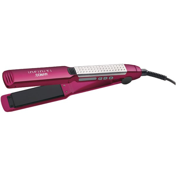 "Tourmaline Ceramic Flat Iron (1.5""; Pink-White)"
