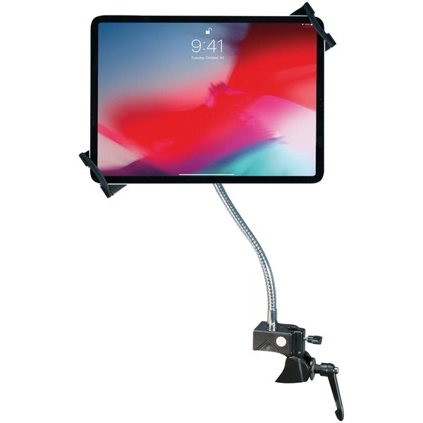 Heavy-Duty Security Gooseneck Clamp Stand for 7-Inch to 13-Inch Tablets
