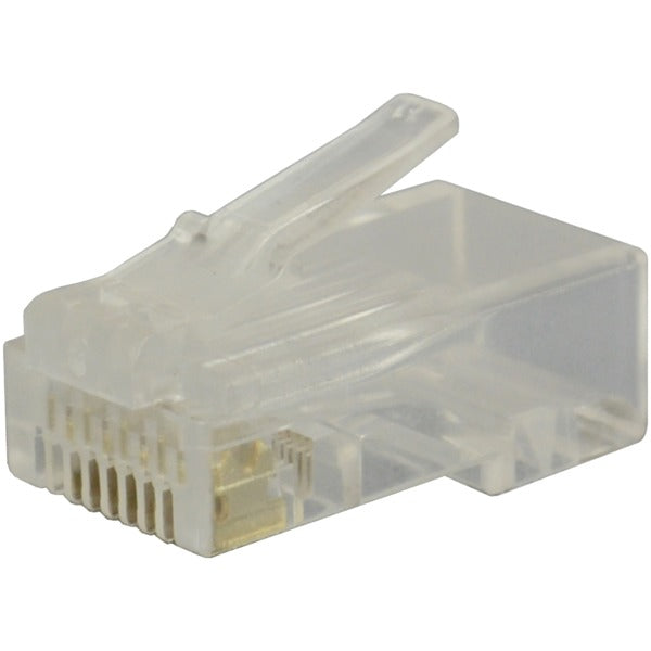 CAT-6 RJ45 Molded Plugs, 25 Pack