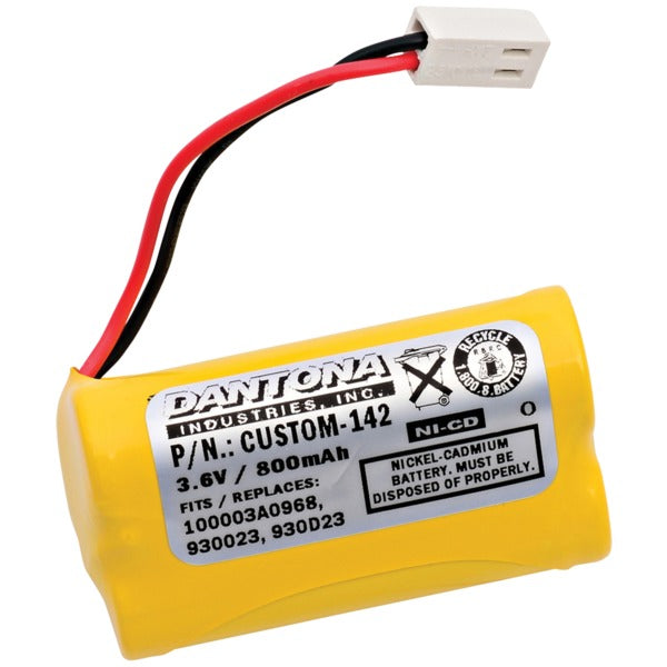 CUSTOM-142 Rechargeable Replacement Battery