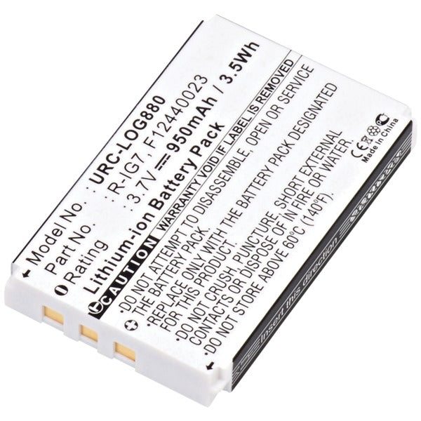 URC-LOG880 Rechargeable Replacement Battery