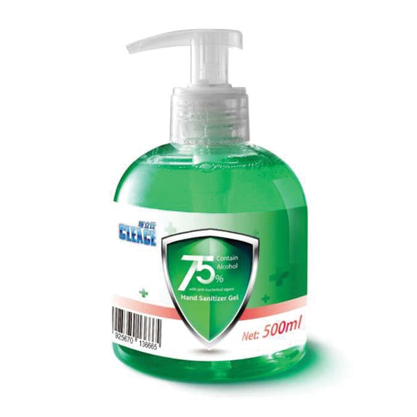 500 mL 75% Alcohol Hand Sanitizer with  Pump