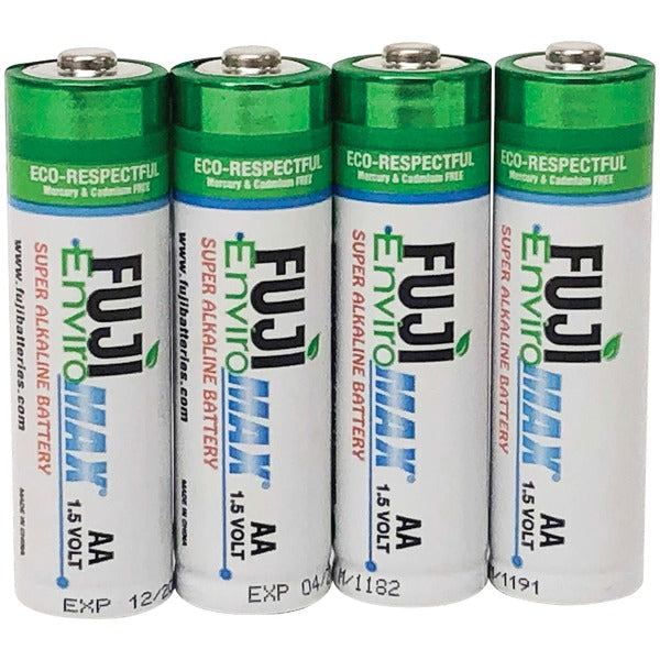 EnviroMax(TM) AA Super Alkaline Batteries (4 pack)