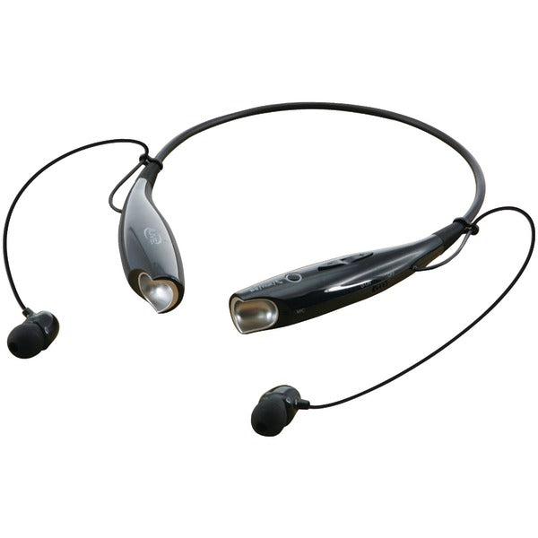 Bluetooth(R) Neckband & Earbuds (Black)