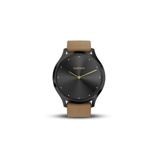 vivomove(R) HR Premium (Onyx Black with Tan Suede)